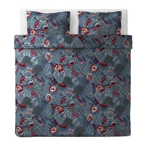 FILODENDRON quilt cover and 2 pillowcases