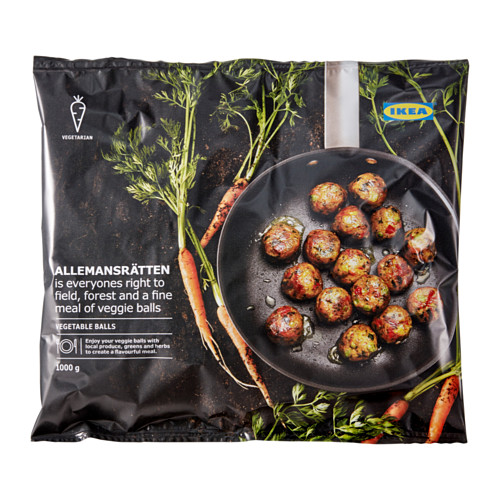 ALLEMANSRÄTTEN vegetable balls, frozen