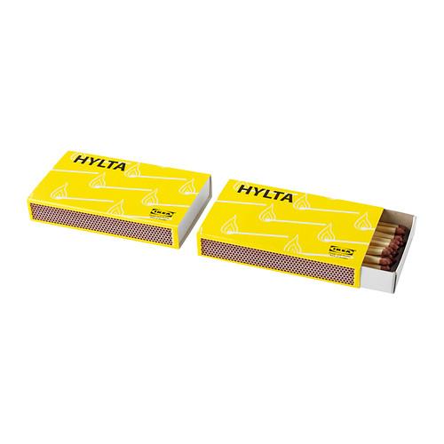 HYLTA sērkociņu kastīte