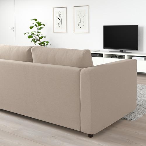 VIMLE četrvietīgs stūra guļamdīvāns