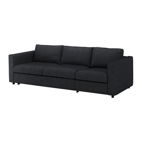 VIMLE trīsvietīga guļamdīvāna pārvalks