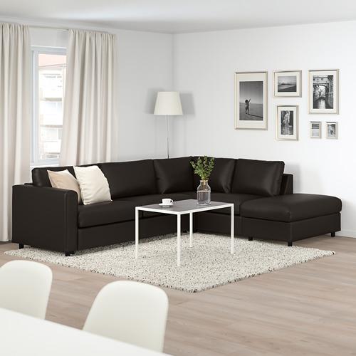 VIMLE četrvietīgs izvelk.stūra dīvāns