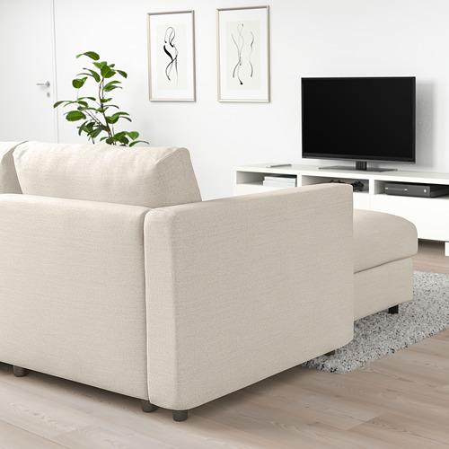 VIMLE kampinė sofa-lova, 5 vietų