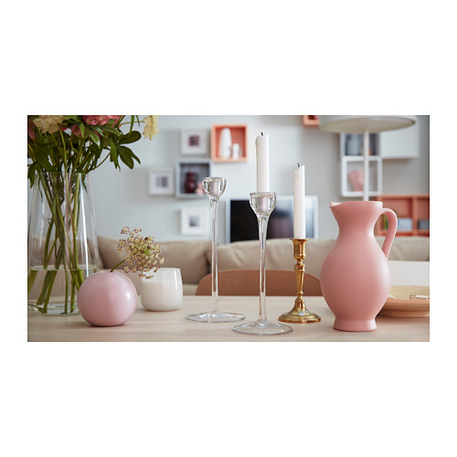 BLOMSTER candlestick, set of 3