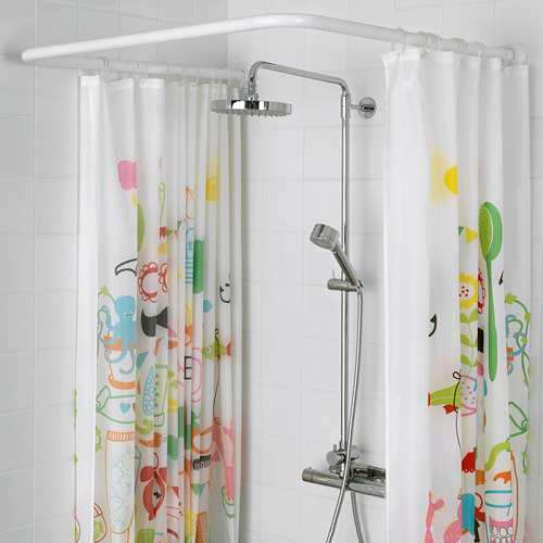 VIKARN shower curtain rod