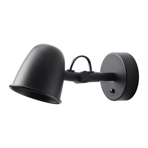 SKURUP wall lamp, wired-in installation