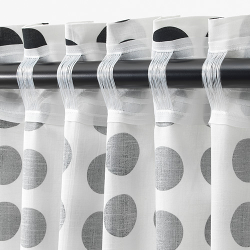KLARASTINA curtains, 1 pair