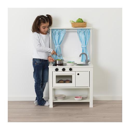 SPISIG rotaļu virtuve ar aizkariem