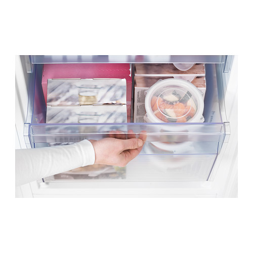 RÅKALL iebūvēts ledusskapis/saldētava A+