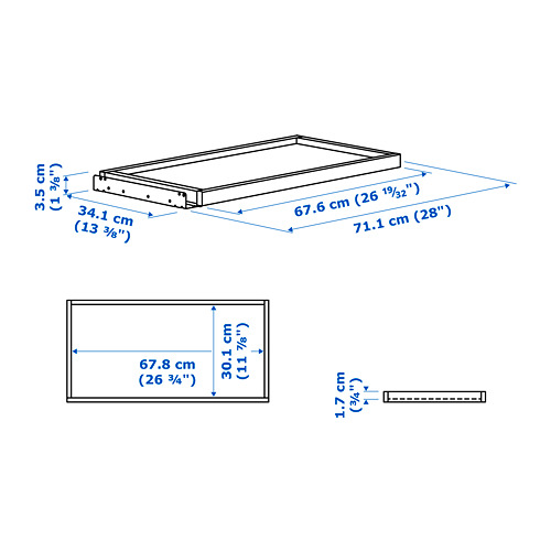 KOMPLEMENT pull-out tray