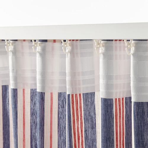 BERGSKRABBA curtains, 1 pair