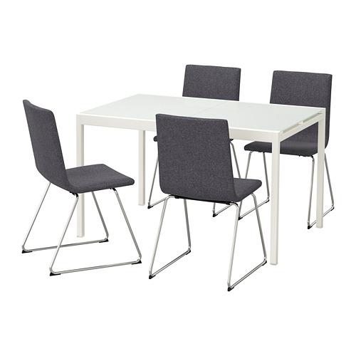 GLIVARP stalas ir 4 kėdės