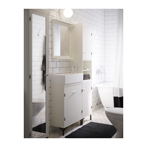 LILLÅNGEN/SILVERÅN izlietnes skapītis ar 2 durvīm