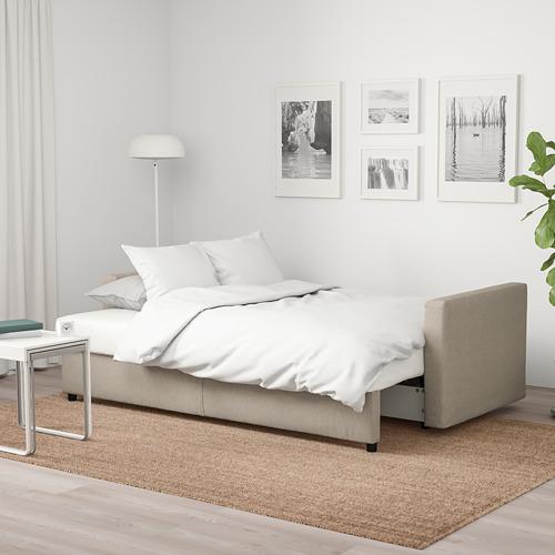 FRIHETEN trīsvietīgs guļamdīvāns