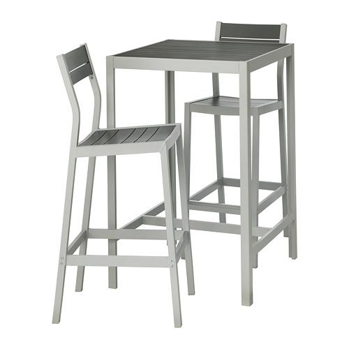 SJÄLLAND baro stalas su 2 kėdėmis, lauko