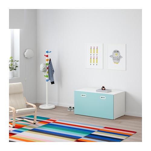 FRITIDS/STUVA sols ar rotaļlietu uzglabāšanu
