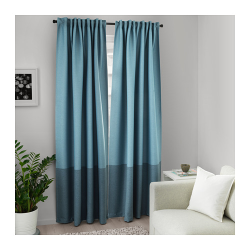 MARJUN room darkening curtains, 1 pair