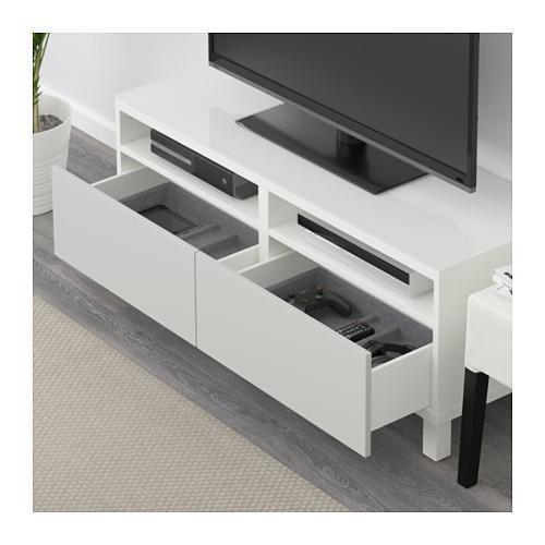 BESTÅ TV staliukas su stalčiais