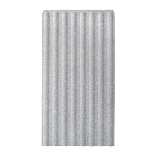 EILIF, pārvietojams aizslietnis, pelēkā krāsā,150x80 cm