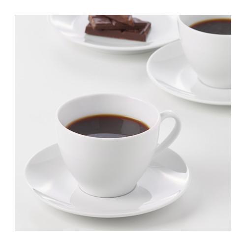 VÄRDERA kavos puodelis su lėkštute