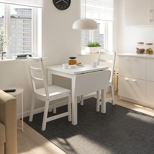 NORDVIKEN/NORDVIKEN table and 2 chairs