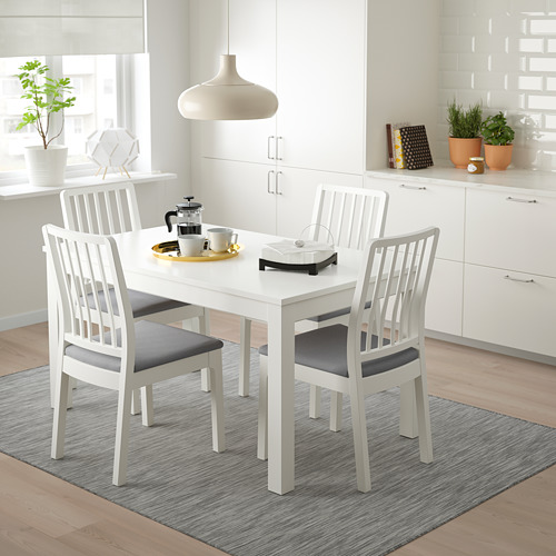 LANEBERG/EKEDALEN stalas ir 4 kėdės