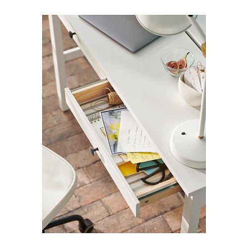 HEMNES rašomasis stalas su 2 stalčiais