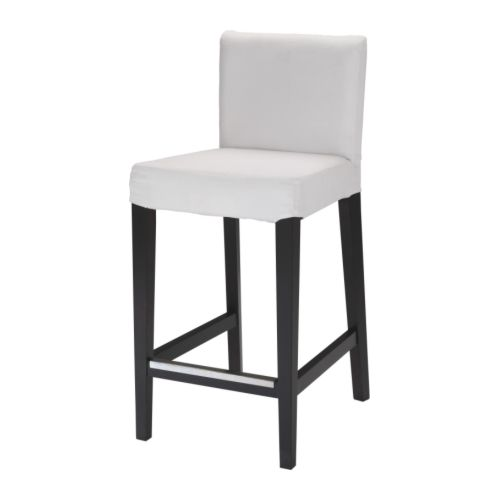 HENRIKSDAL bāra krēsls ar atzveltnes rāmi