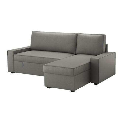 Sofa Chaise Longue Ikea.Vilasund