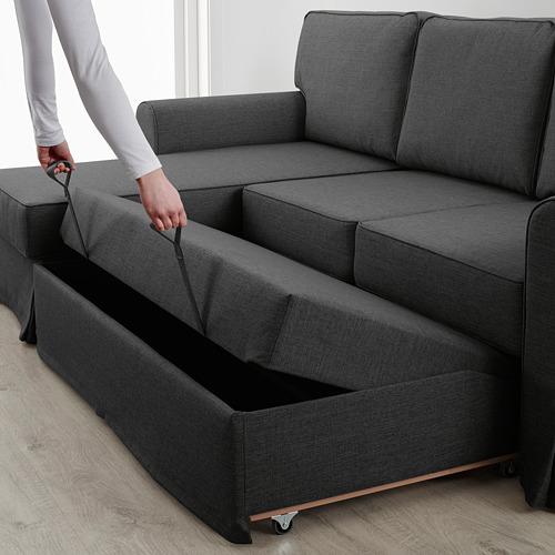 EVERTSBERG Divvietīgs guļamdīvāns