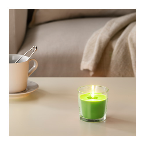 SINNLIG scented candle in glass