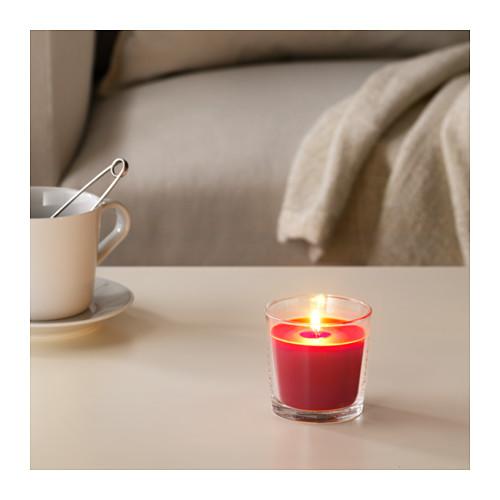 SINNLIG ароматическая свеча в стакане