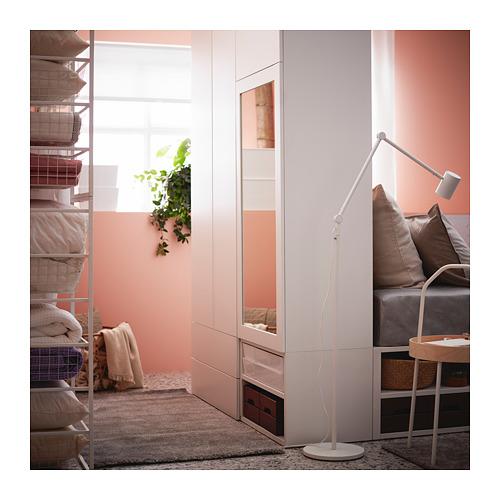 PLATSA lovos rėmas su 4 dur., 6 stalč.