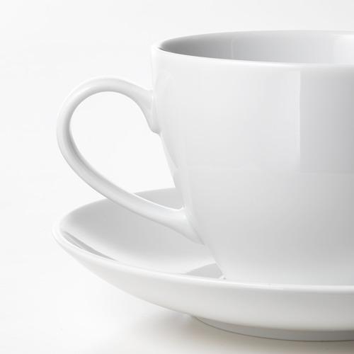 VÄRDERA puodelis su lėkštute