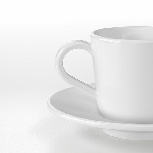 IKEA 365+ Espreso kavos puodelis su lėkštute