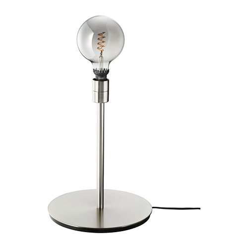 ROLLSBO/SKAFTET galda lampa ar spuldzi