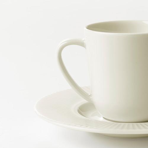 OFANTLIGT Espreso kavos puodelis su lėkštute