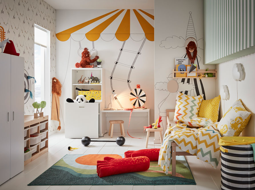 A Childrens Room To Develop Imagination