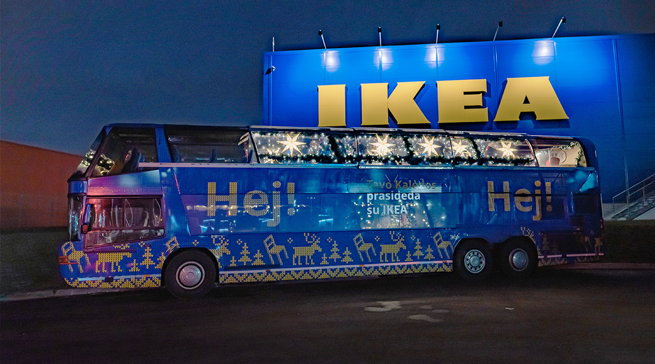 IKEA Christmas is coming to town