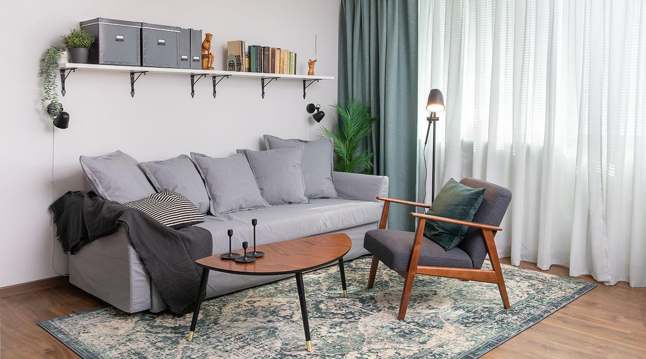 Kuidas luua ühetoalisesse korterisse nelja toa jagu ruumi?