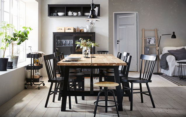 Dining room in the countryside: for eating, gathering and celebrating