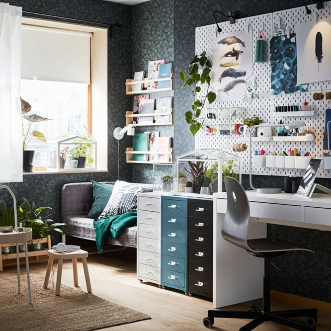 A low-price home office in style