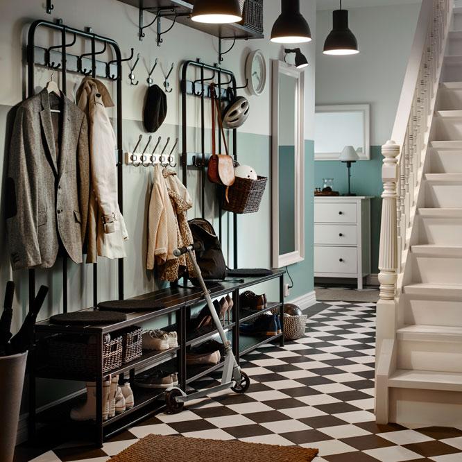 A classic hallway interior