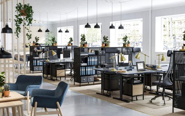 Modernus biuras mieste