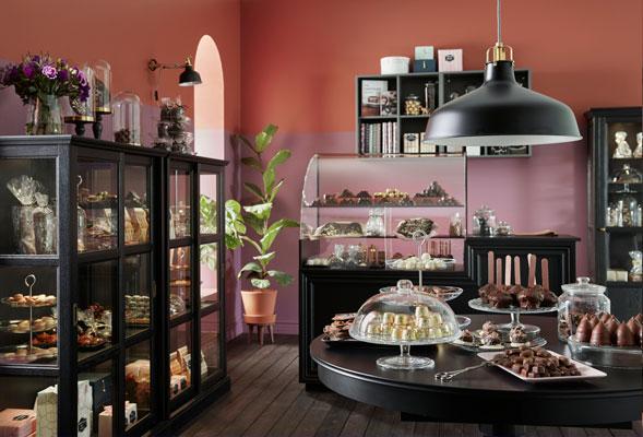 Traditsioonilises stiilis šokolaadipood