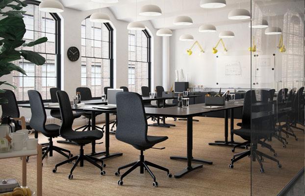 Tööruum konverentside ja koosolekute jaoks