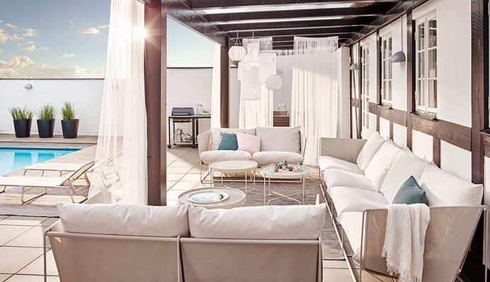 Puhkuseäri: mereäärsed terrassiga korterid