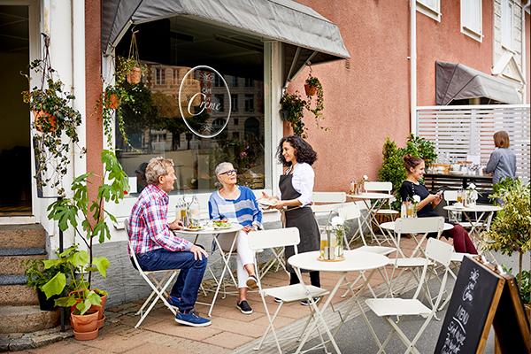 Lauko kavinė senamiestyje