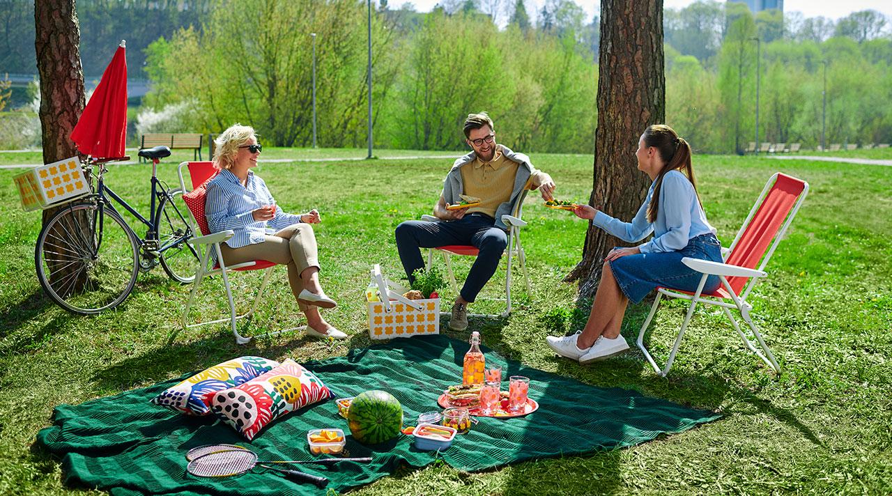 Настало время фики: пикник с коллегами