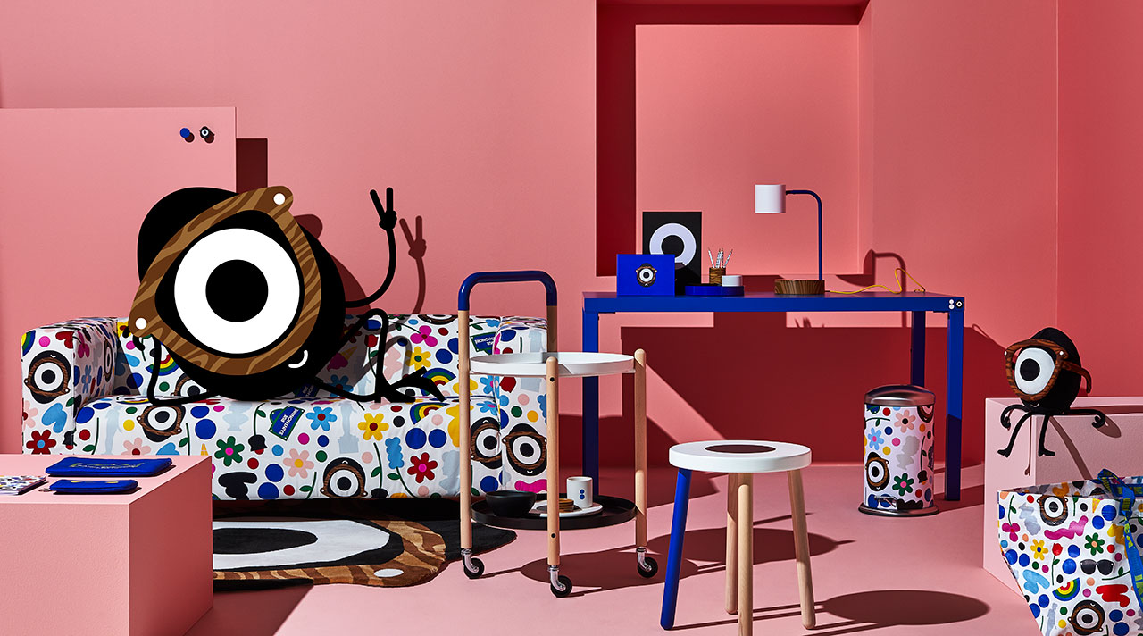 A cool, colourful workspace with FÖRNYAD